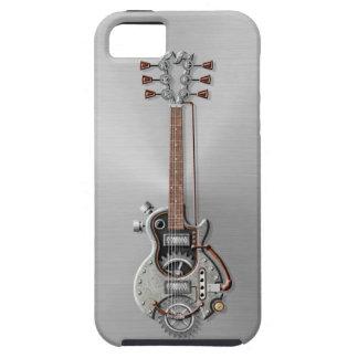 Steel Steampunk Guitar iPhone 5 Case