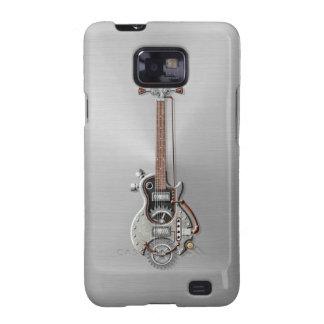 Steel Steampunk Guitar Samsung Galaxy Case