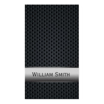 steel, metal, fashion, men's, business, monogram, cool, metallic, customize, business card, texture, custom name, classy, pattern, professional, custom, guys, personalized, name, trendy, luxury, cards, Business Card with custom graphic design