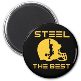 Steel The Best 2 Inch Round Magnet