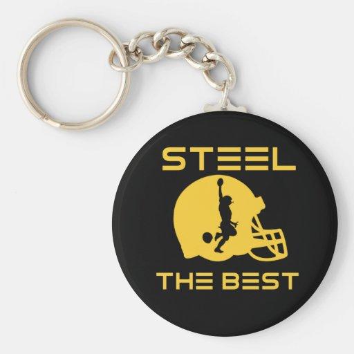 Steel The Best Keychains