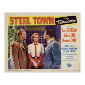 Steel Town Lobby Card (7 of 8) Poster