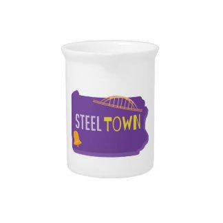 Steel Town Beverage Pitchers