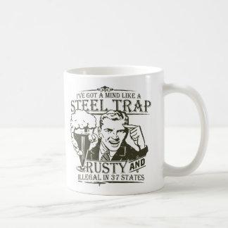 Steel Trap Coffee Mugs