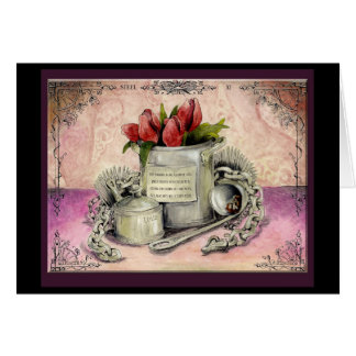 Steel Wedding Anniversary : Jupigio-Artwork.com Greeting Card