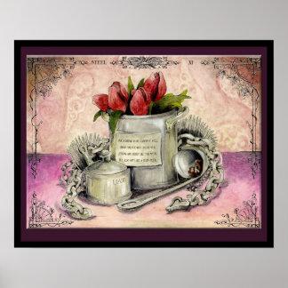 Steel Wedding Anniversary: Jupigio-Artwork.com Poster