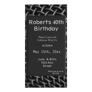 Steel Wire Birthday Card