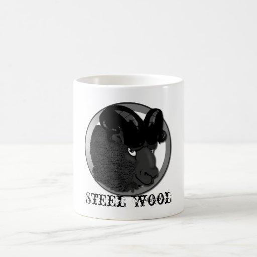 Steel Wool Classic White Coffee Mug