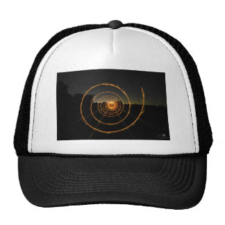 Steel Wool Spiral Trucker Hat