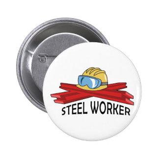 STEEL WORKER BUTTONS
