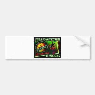 Steele Donkey Barbados Car Bumper Sticker