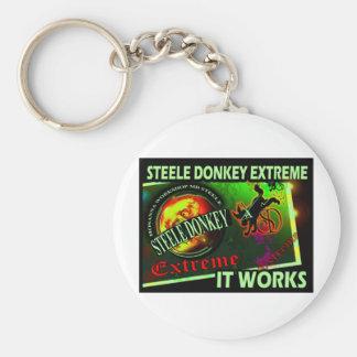 Steele Donkey Barbados Key Chains