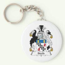 Steele Family Crest Keychain