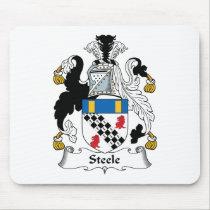 Steele Family Crest Mousepad