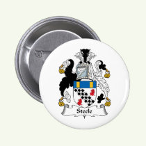 Steele Family Crest Button