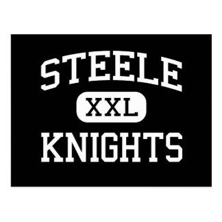 Steele - Knights - High School - Cibolo Texas Postcard