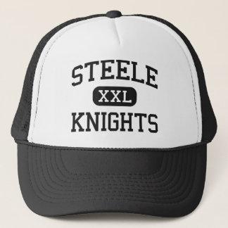 Steele - Knights - High School - Cibolo Texas Trucker Hat