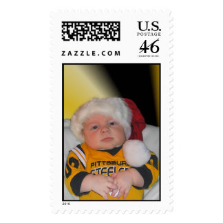 steeler baby postage stamps