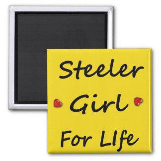 Steeler Girl for Life Magnet