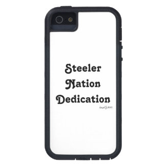 Steeler Nation Dedication iPhone 5 Cases