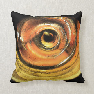 Steelers Gold and Black Abstract Pillows