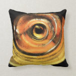 Steelers Gold and Black Abstract Throw Pillow