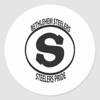 steelers pegatina redonda