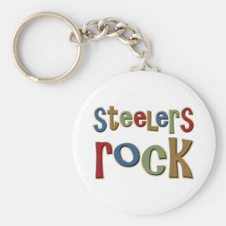 Steelers Rock Keychain