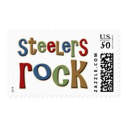 Steelers Rock Postage