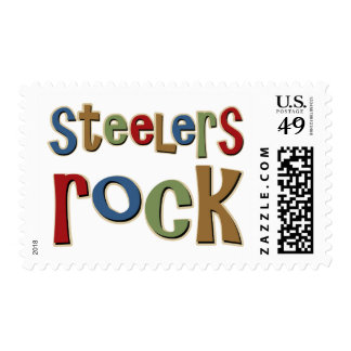 Steelers Rock Postage Stamp