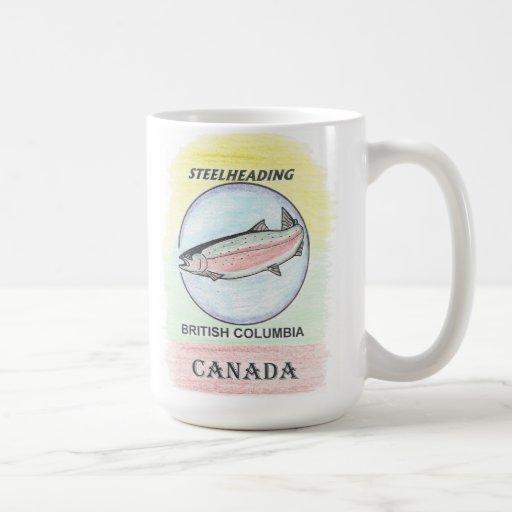 Steelhead fishing B.C. souvenir mug