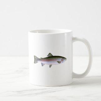 Steelhead Rainbow Trout Fishing  Logo Coffee Mug