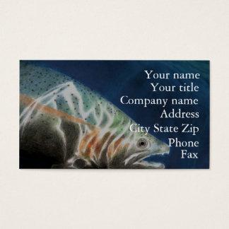 Steelhead Trout Business Card