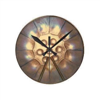 Steelpan~clock Reloj Redondo Mediano