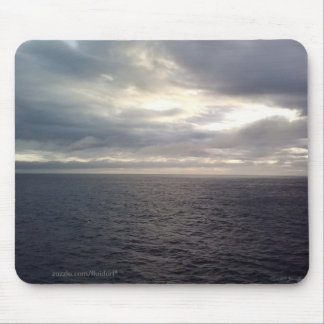 Steely Gray Waters Mousepad