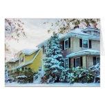 Steely Winter Sky Cards
