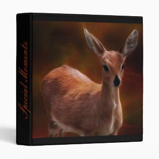 Steenbok deer are so tiny 3 ring binder