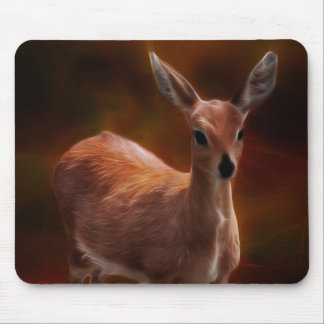 Steenbok deer are so tiny mouse pad