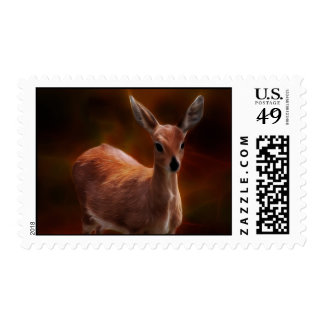 Steenbok deer are so tiny stamp
