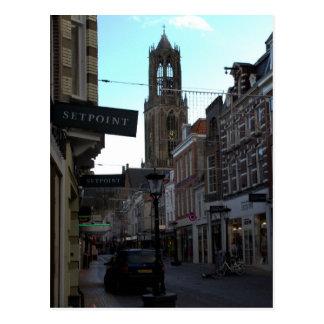 Steenweg, Utrecht Postcard