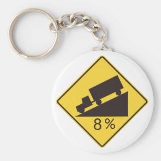 Steep Decline Keychain