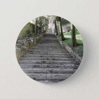 Steep flight of stairs button