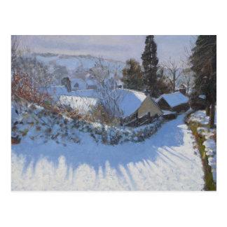 Steep Hill Wirskworth Derbyshire 2009 Postcard