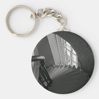 Steep Stairs Down Keychain