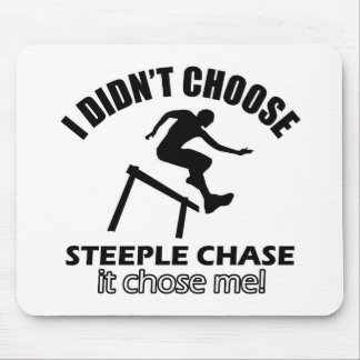 steeple chase design mouse pad