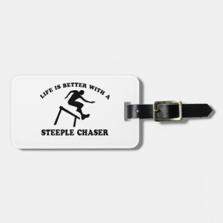 Steeple Chase designs Travel Bag Tags