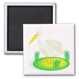 Steeple Stork Magnet