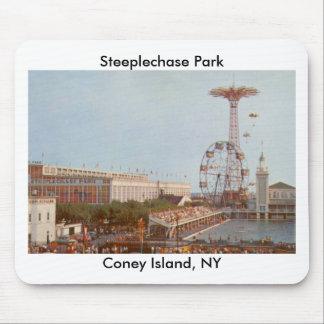 Steeplechase Amusement Park, Coney Island NY Mousepads