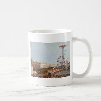 Steeplechase Amusement Park, Coney Island NY Mugs
