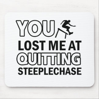 Steeplechase designs mouse pad